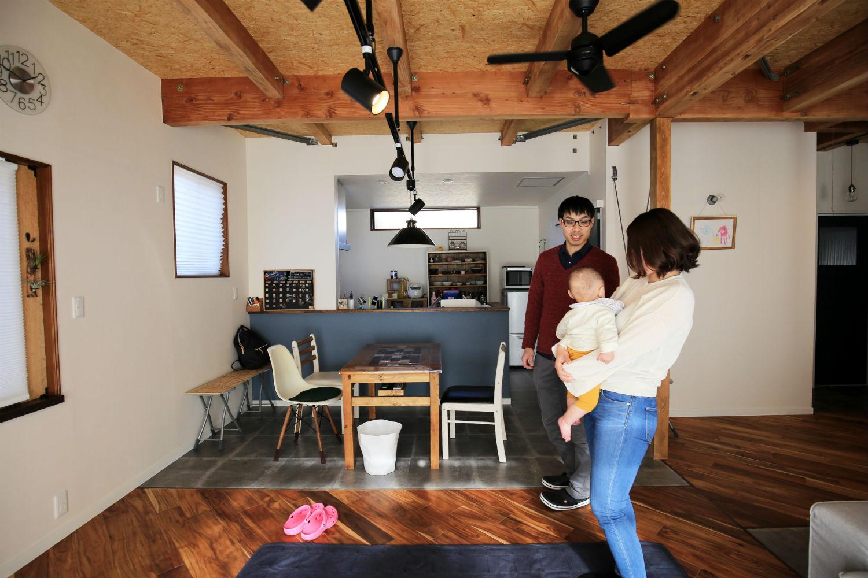 DIYを楽しむ家